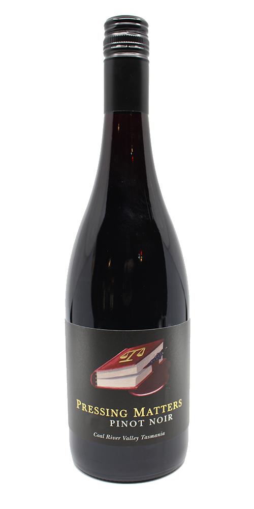 Pressing Matters Pinot Noir 2017 - JAMES HALLIDAY TROPHY 2019 ROYAL MELBOURNE WINE AWARDS