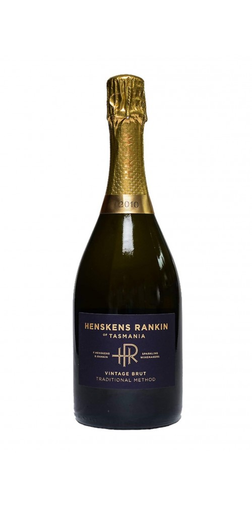 Henskens Rankin of Tasmania Vintage Brut 2010 - DUAL TROPHY WINNER & TOP GOLD MEDALIST