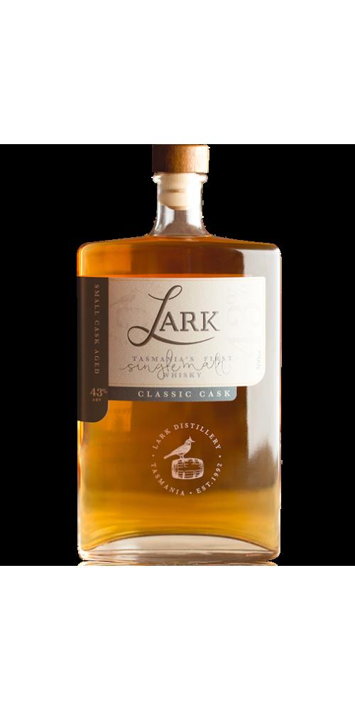 Lark Single Malt Classic Cask Tasmanian Whisky - AWARD WINNER