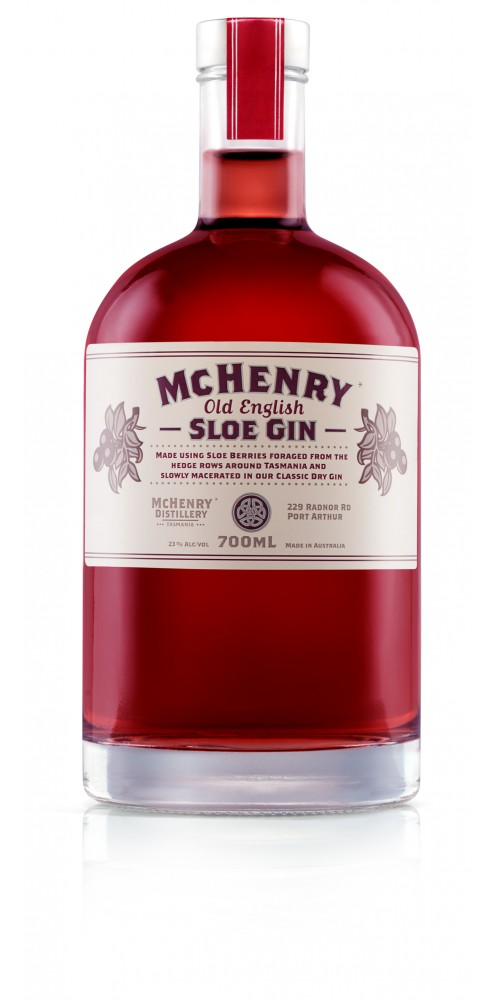 McHenry Distillery Tasmania Old English Sloe Gin 25% - 700ml