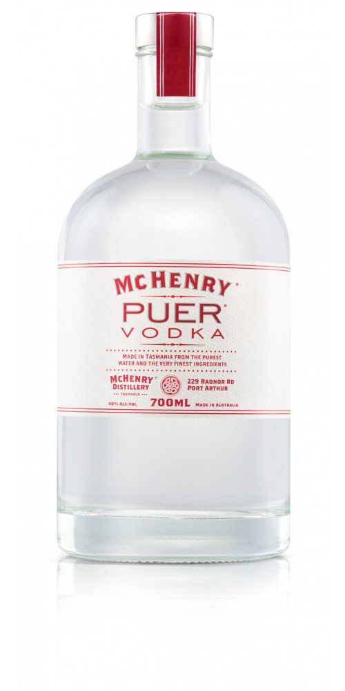 McHenry Distillery Tasmania Puer Vodka 40% - 700ml