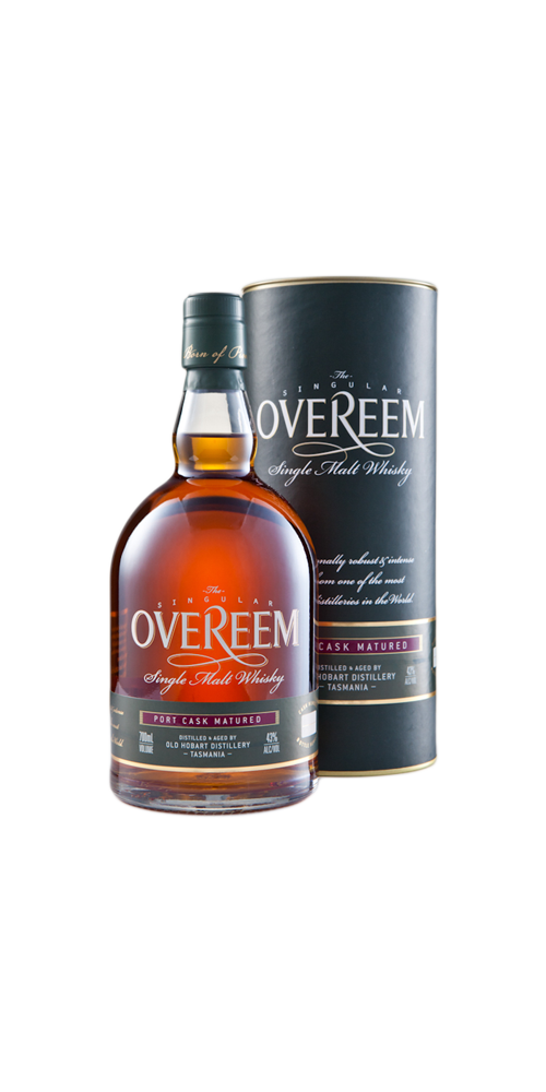 Overeem Distillery Port Cask Matured Single Malt Whisky 43% - 700ml