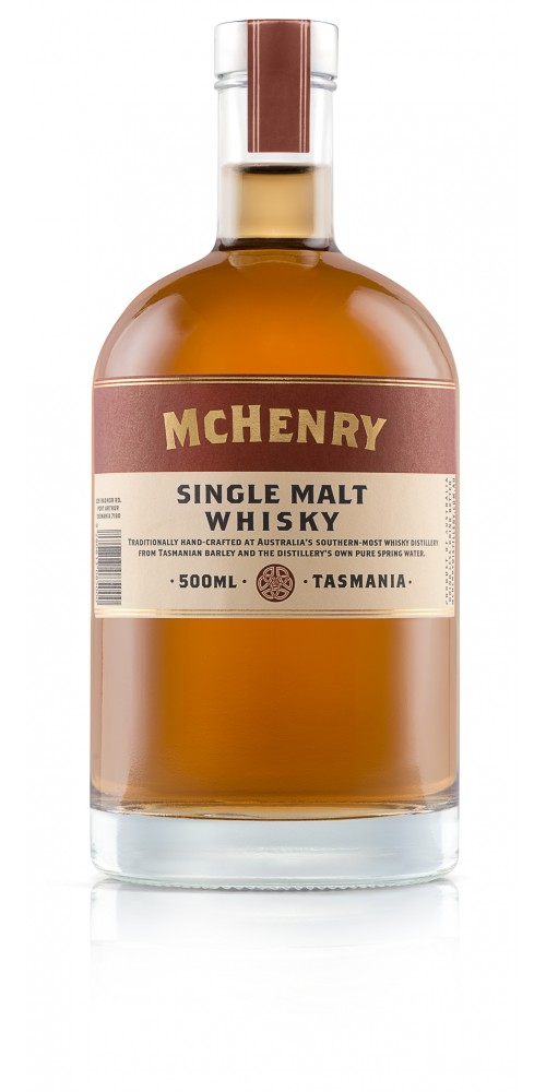 McHenry Distillery Single Malt Whisky (Barrel 16) 44% - 500ml
