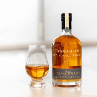 Launceston Distillery Single malt Whisky Bourbon Cask Matured 46% - 500ml