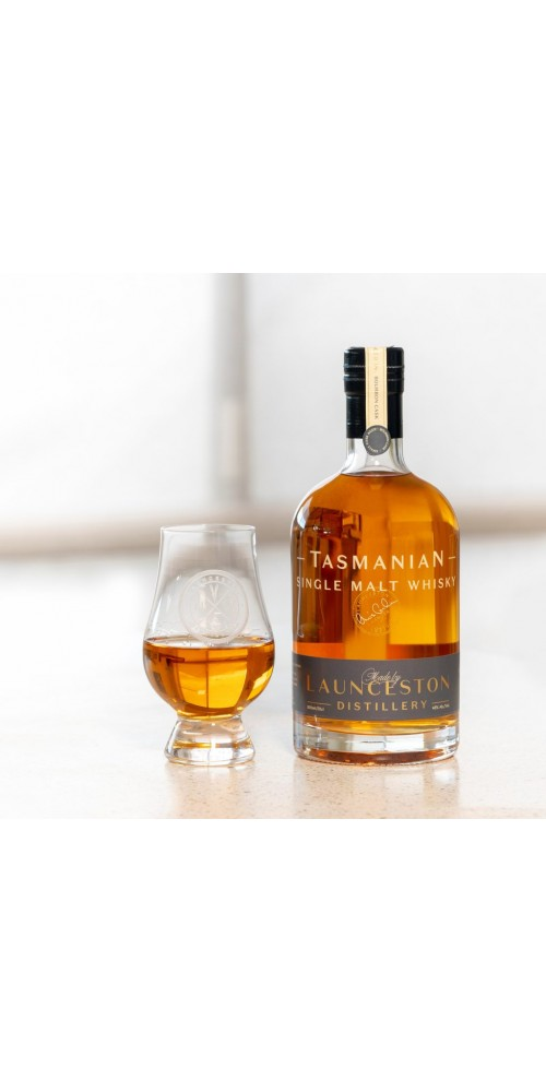 Launceston Distillery Single malt Whisky Bourbon Cask Matured 46% - 500ml