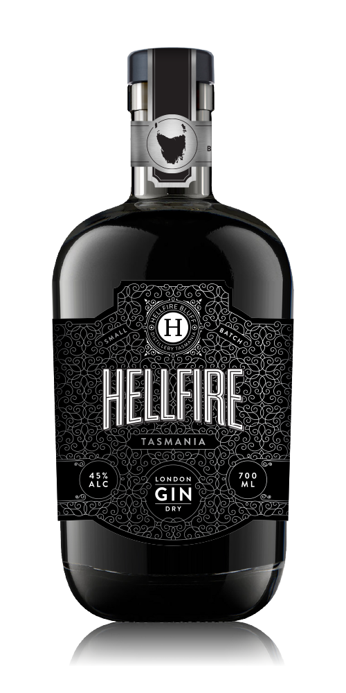 Hellfire London Dry Gin 45% - 700ml