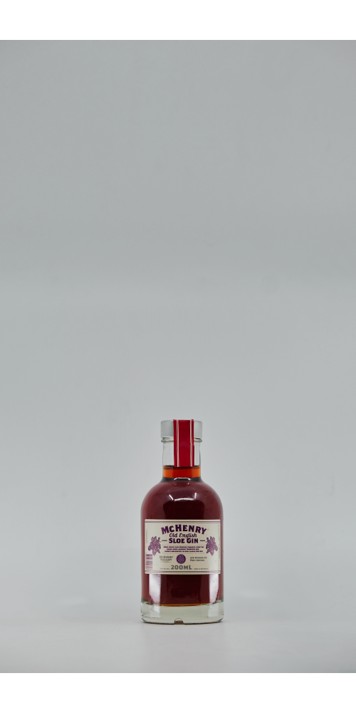 McHenry Distillery Tasmania Old English Sloe Gin 25% - 200ml