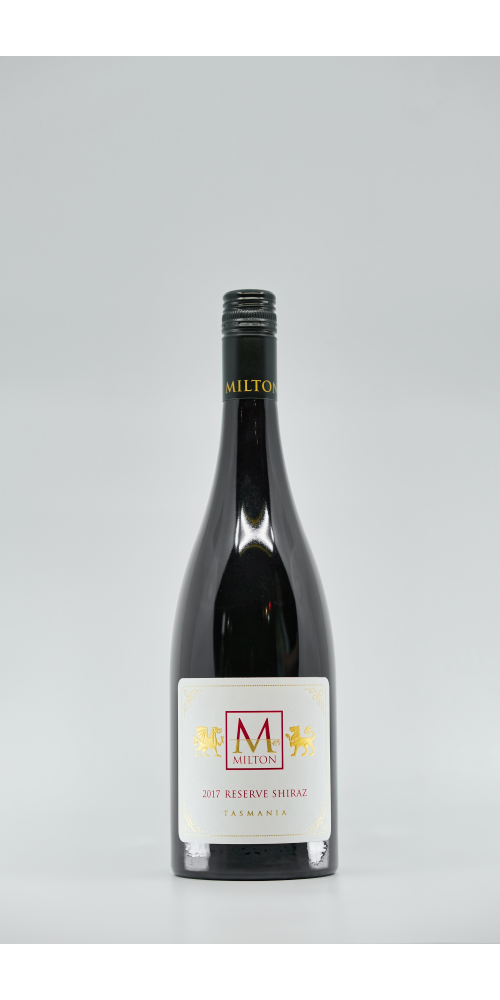 Milton Vineyard Reserve Shiraz 2017