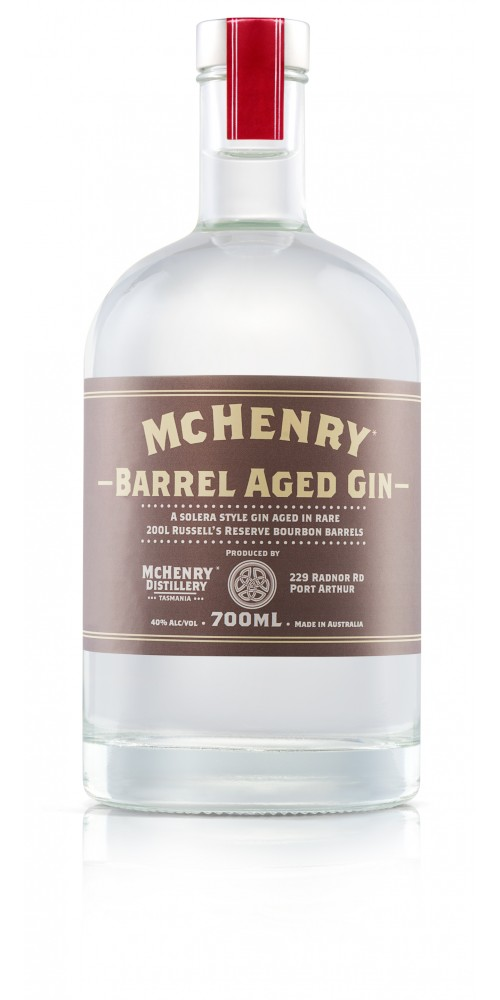 McHenry Distillery Tasmania Barrel Aged Gin 40% - 700ml
