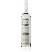 666 Pure Tasmanian Vodka 40% - 700ml - LIMITED