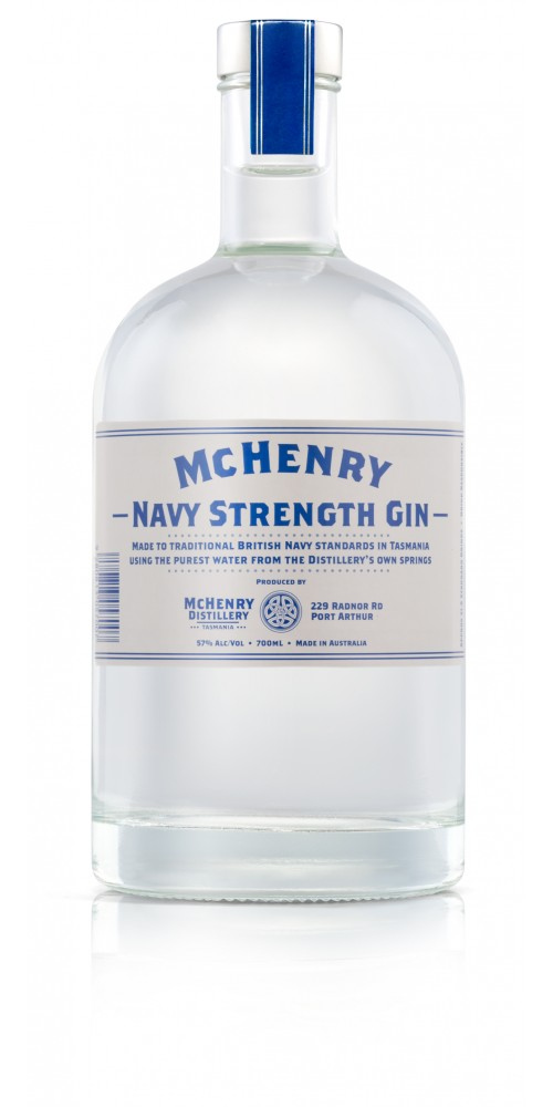 McHenry Distillery Tasmania Navy Strength Gin 57% - 700ml