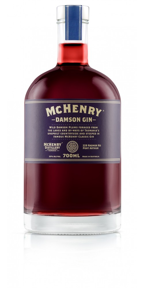 McHenry Distillery Tasmania Damson Gin 40% - 700ml