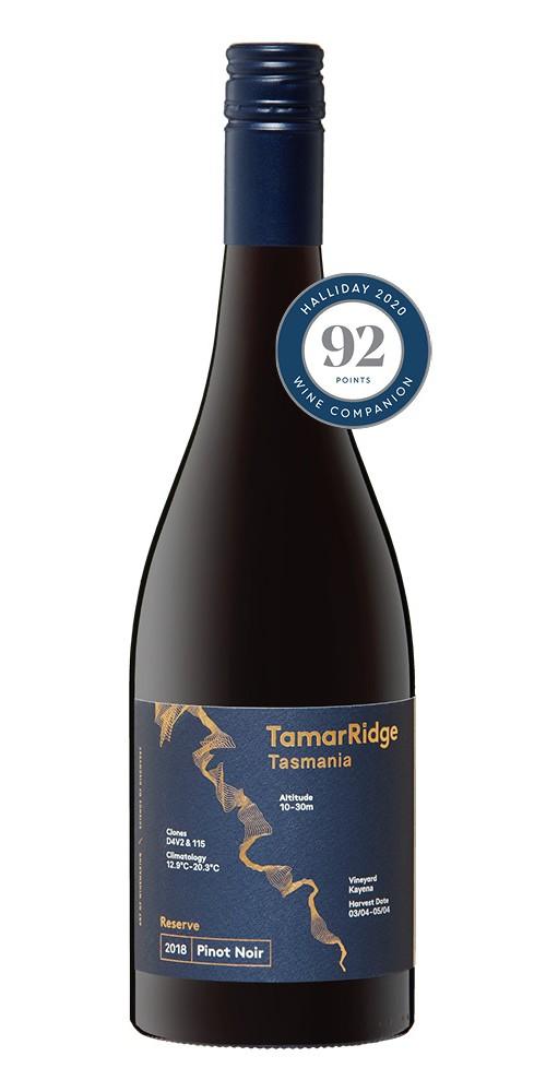Tamar Ridge Reserve Pinot Noir 2018