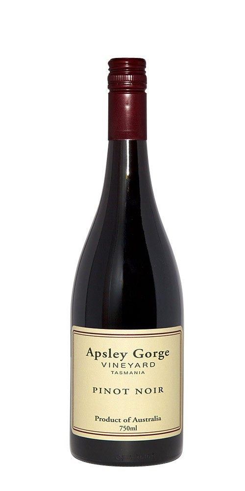 Apsley Gorge Pinot Noir 2012 (2014 also available by request)