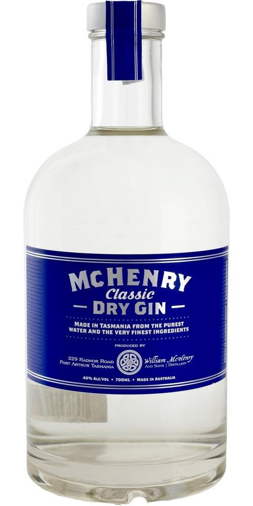 McHenry Distillery Tasmania Classic Dry Gin 40% - 700ml